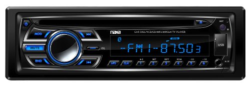 NAXA Electronics NCA-604 Full Detachable PLL Electronic Tuning Stereo AM/FM Radio MP3/CD Player