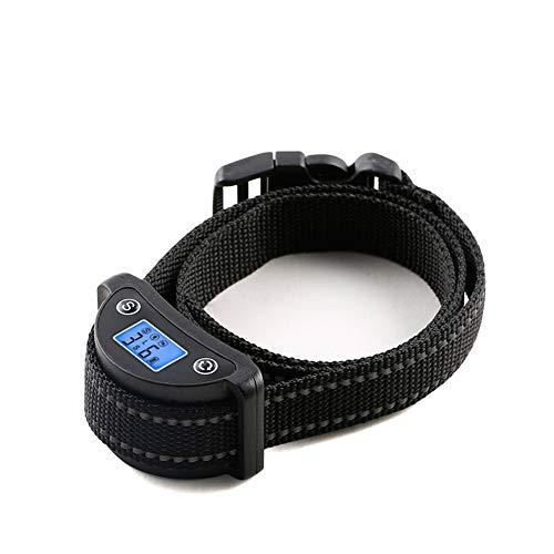 Wodondog Collar Antiladridos para Perros, Anti Ladridos Dispositivo con Sonido y Vibracione 5 Niveles de Sensibilidad Ajustables