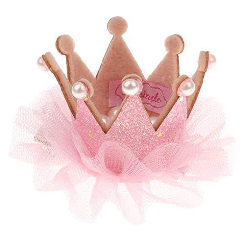 Forbestest Kinder-Haar-Klipp-Kinder schnüren sich Blumen-Perlen-Hairpin-Mädchen-Partei Dekorative Haar Fixer Schmuck