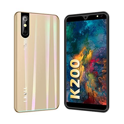 I KALL K200 Smartphone (Gold, 2GB, 16GB, 4G Volte, Dual Sim)