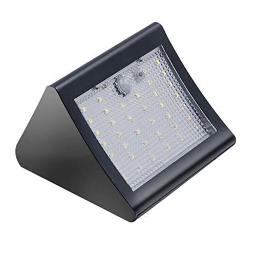 MERIGLARE Luz de Césped Exterior de 56 LED para Sensor de Movimiento PIR