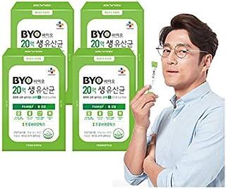 [CJ Cheiljedang] BYO Two Billion Lactobacillus [Family] Healthy Bowel Probiotics 2g * 120 Count [4 Boxes]