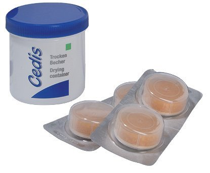 Cedis Original Trockenset für alle Hörgerätetypen (inkl. 4 Trockenkapseln)