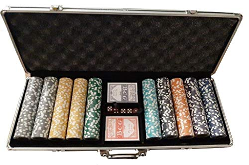 Set Poker Valigetta Completo 500 Fiches all in 14 Grammi