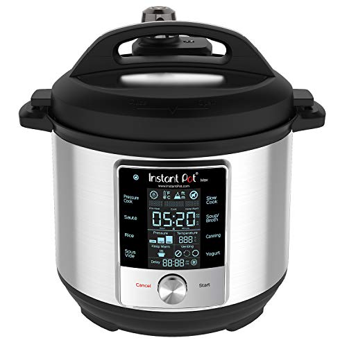 Today Only: Instant Pot Max Pressure Cooker 9 In 1 6 Qt For $79.99 Shipped From Amazon After $70 Cyber Monday Discount!