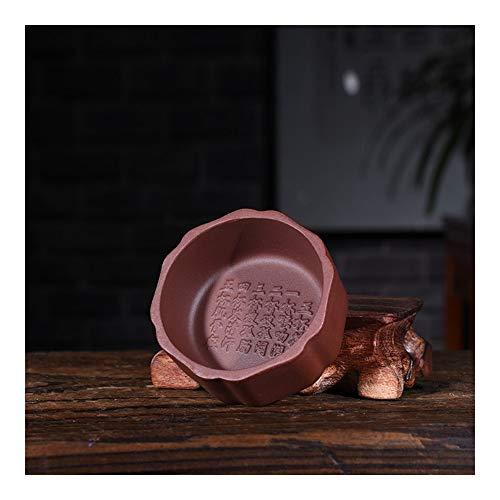 Teapot Tea Pot Purple Colored Suit Small Cup Teapot Tea Kung Fu Tea Accessories TongLingUSL (Color : Purple mud)