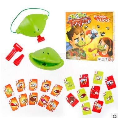 Aodure Game ávido camaleón rana camaleones codiciosos camaleones comen mosquitos y escupen Idiomas para golpear tarjetas Juegos interactivos Multijugador Tic Tac Toy Office Juego de captura de lengua