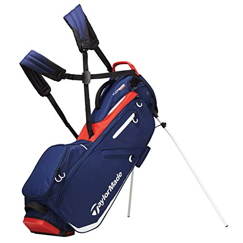 TaylorMade Flextech Stand Golf Bag, Navy, One Size (2019)