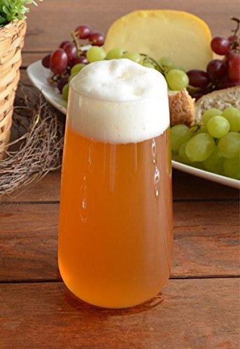 Walther Glas Birra/Succo Bicchieri Ilaria 360ml Set di 6
