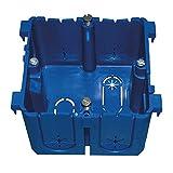PROTEC.CLASS Geräteeinbaudose Deckelverrastung blau PBRED 80 BLAU