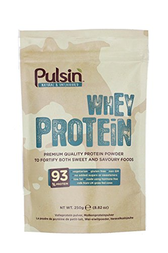 Pulsin - Natural and Unflavoured Whey Protein - 250g (Case of 6)