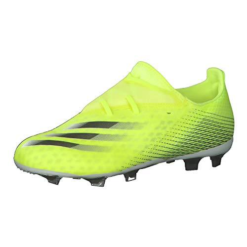 adidas X GHOSTED.2 FG, Zapatillas de fútbol, Amasol/FTWBLA/AZUREA, 37 1/3 EU