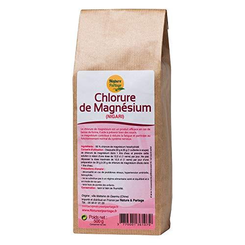 Nature et partage - Cloruro de magnesio (nigari, 500g)