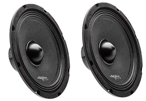 (2) Skar Audio Npx8-4 8  350 Watt 4-Ohm Neodymium Pro Audio MID-Range Loudspeaker - 2 Speakers