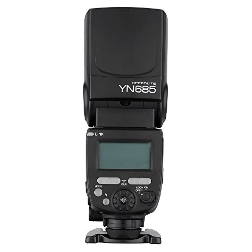 2. Yongnuo YN685 Flash Speedlite 1/8000 s GN60 TTL 2.4 G Wireless pour Canon DSLR Camera Compatible avec Le systeme sans Fil de 622C/603