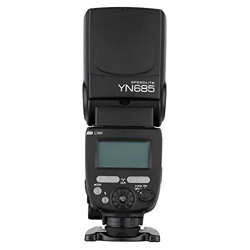 Speedlite Yongnuo YN685 Speedlite GN60 1/8000 s 2.4 G Wireless TTL für Canon DSLR-Kamera kompatibel mit dem drahtlosen System von YONGNUO 622c/603