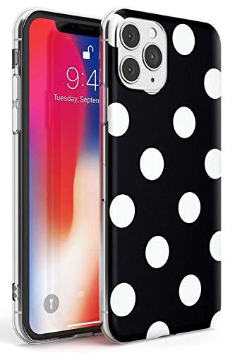 ZSCHAO Funda iPhone 11 Pro MAX Transparente Negro Mate Dura Rigida