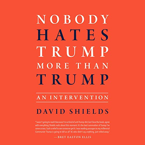 Nobody Hates Trump More than Trump: An Intervention audiobook cover art