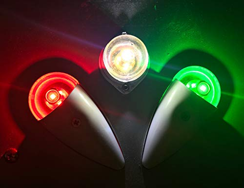 Aircraft LED Position Bulb Replacement Kit (Set Includes: Red/Green/White + New Lens Gaskets) | Aero-Lites 10-30VDC