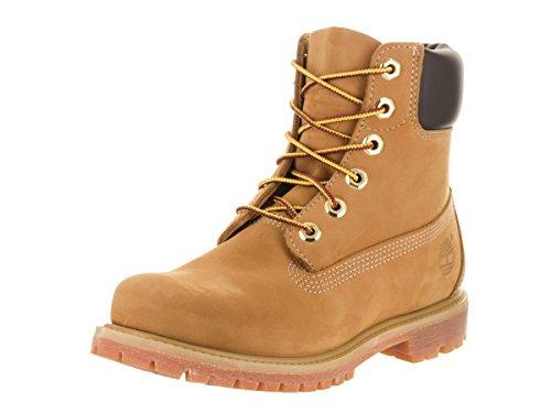 Timberland Women's 6-Inch Premium Boot,Wheat,11 M US