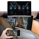 FANGX Reposacabezas Coche De 12.5' Android 9.0, Portátil para Coche Pantalla Táctil,Soporte De Sistema Multimedia para Coche WiFi, Netflix, Youtube, Bluetooth, Espejo de teléfono, HDMI, USB