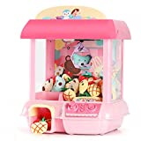 KIDSLANDS Claw Doll Machine Indoor Arcade Games Sounds and Lights,Intelligent Independent Remote Control,USB