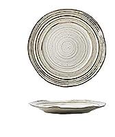[ユリカー] プレート 皿 パスタプレート カレー パスタ皿 電子レンジ・食洗機・オーブン対応 皿 洋食器 ギフト (写真通り)