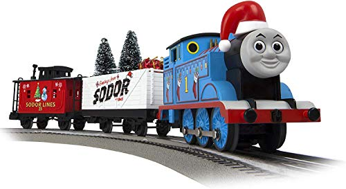 Lionel Thomas & Friends Christmas Freight Electric O Gauge Model Train Set w/ Remote and Bluetooth Capability