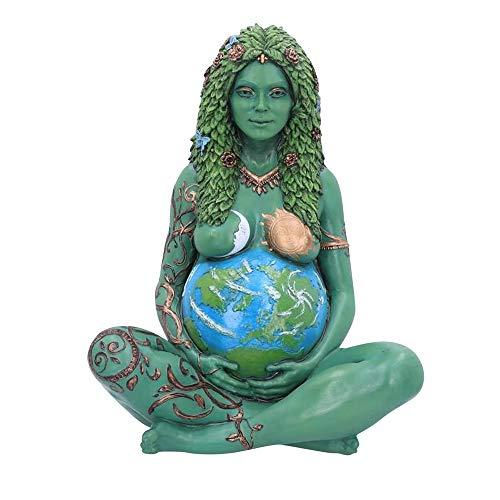 CHSHY Estatua De La Madre Tierra De Gaia, Figurina De Resina De Arte De 15 Cm, Escultura De La Madre Tierra, Decoración del Jardín Home Día De La Madre Regalo,1pcs