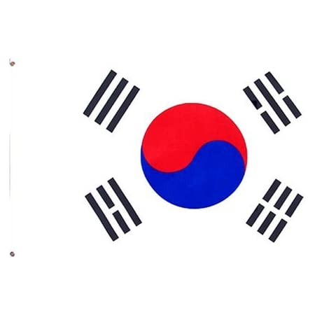 South Korea 3ft X 5ft Printed Polyester Flag Outdoor Flags Garden Outdoor