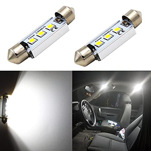 Alla Lighting 41MM/42MM 211-2 578 CANBUS LED Bulbs 212-2 569 6413 Festoon Interior Map, Dome, Trunk,...