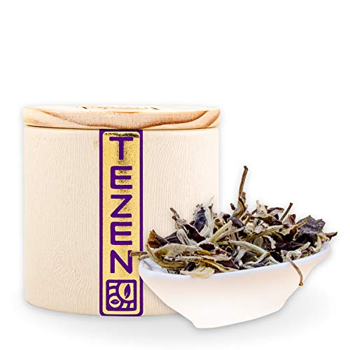 Bai Mu Dan: Weißer Bio Tee aus China   Hochwertiger chinesischer Weißer Bio Tee   Premium China Tee (Bio) aus Fuding, Fujian (80g)