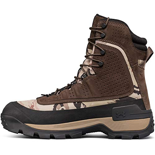Under Armour Men's Browe 2.0 400G Ankle Boot, Ridge Reaper Camo Ba (901)/Maverick Brown, 8