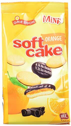 Griesson Soft Cake Minis, Orange, 12er Pack (12 x 125 g Beutel)