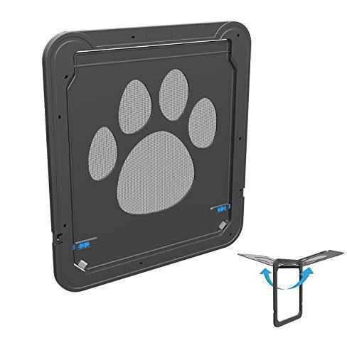 Namsan Haustierklappe Haustiertüre Fuer Hunde&Katze- Grosse 31cm x 36cm (12