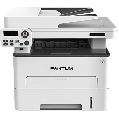 Pantum M7102DN Multifunction Laser Printer with Copier Scanner Black and White & Automatic Two-Sided Printing Connect only via Wireline Network and USB 2.0