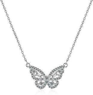 قلادة سلسلة شكل فراشة Butterfly shape chain necklace