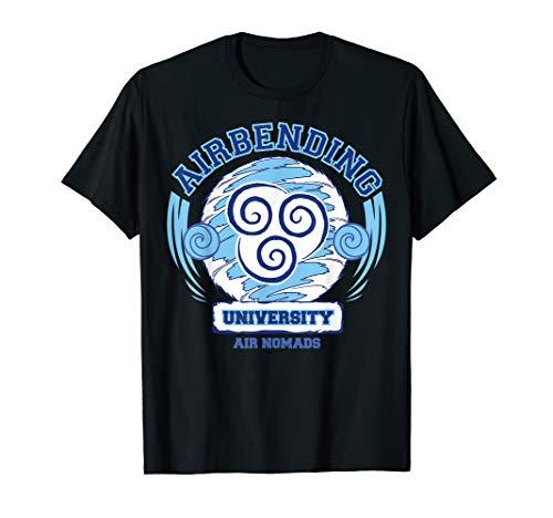 Air Bending University Logo Air Nomads T-Shirt