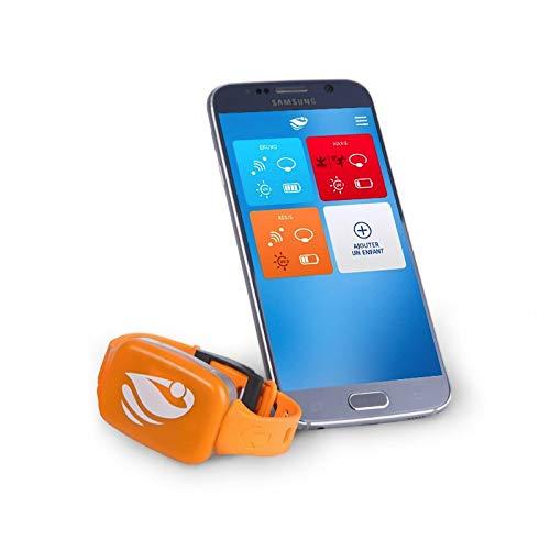 Bracelet de sécurité Piscine No stress avec Application Smartphone Kit 1