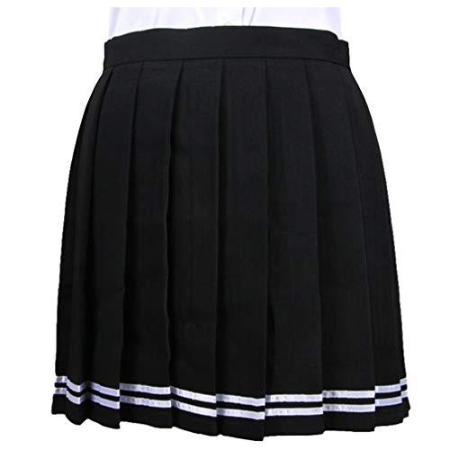 WEIMEITE Trajes Cosplay Plisados Japón Cintura Alta Mujeres Faldas Uniformes Escolares Mujeres Plaid Mini Falda Plisada