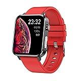 elettronica di consumo e86 1,7 pollici tft color screen ip68 impermeabile smart watch, supporto monitoraggio dell'ossigeno del sangue / monitoraggio della temperatura corporea / ai diagnosi medica, st