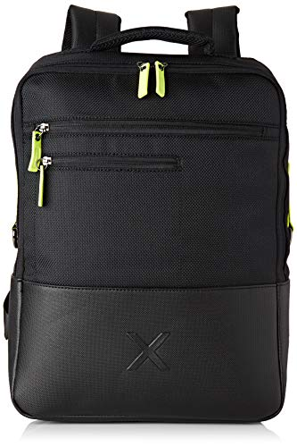 Munich Backpack City Business Negro, Bolsa para portátil para Hombre, (Black), 13.0x41.0x31.0 cm (W x H x L)