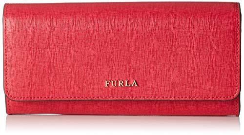 FURLA Babylon Xl Bifold - Portafogli Donna, Rosso (Ruby), 1x10x19.5 cm (B x H T)