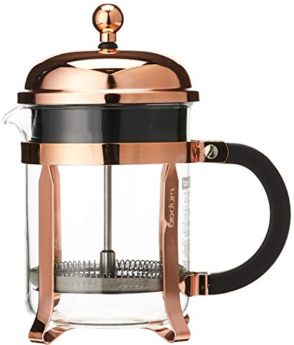 Bodum Chambord 4 Cup French Press Coffee Maker, Copper, 0.5 l