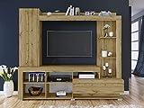 Arredodacasa.com Parete attrezzata Mobile Soggiorno Rovere Design Moderno MOD PAI6041