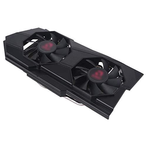 Ventilador de enfriamiento de gráficos con Chip AMDRX570 RX580 RX588 con Carcasa RX570 580 GPU coolin AMDRX570 RX580