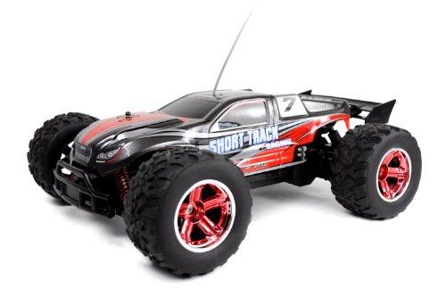 Amewi 22099 S-Track 4WD Racing Truggy - Coche teledirigido (tracción en Las 4 Ruedas, Escala 1:12, Listo para su Uso)