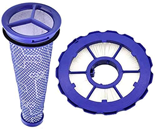Casa Vacuums Replacement Hepa Post Filter & Washable Pre Filter Kit for Dyson DC50 Animal - Multi Floor Complete Uprights. Part # 965081-01&965080-01