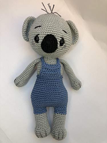 Peluche koala 27cm crochet en coton pour enfant