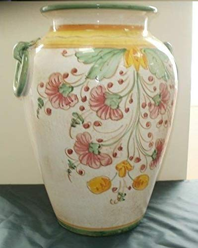 HOME CASA Portaombrelli Vaso Ceramica v93 50 Prato Rosa
